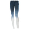 FREDDY WR.UP  2 TONE PANT - Navy/White - LIVIFY  - 2