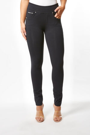 N.O.W.® YOGA Fashion - High Rise Full Length - Black