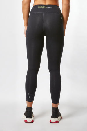 ENERGY PANTS® - High Rise Ankle Cotton - Black