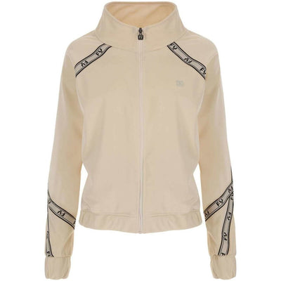 Freddy Logo History Zip Track Top - Cream