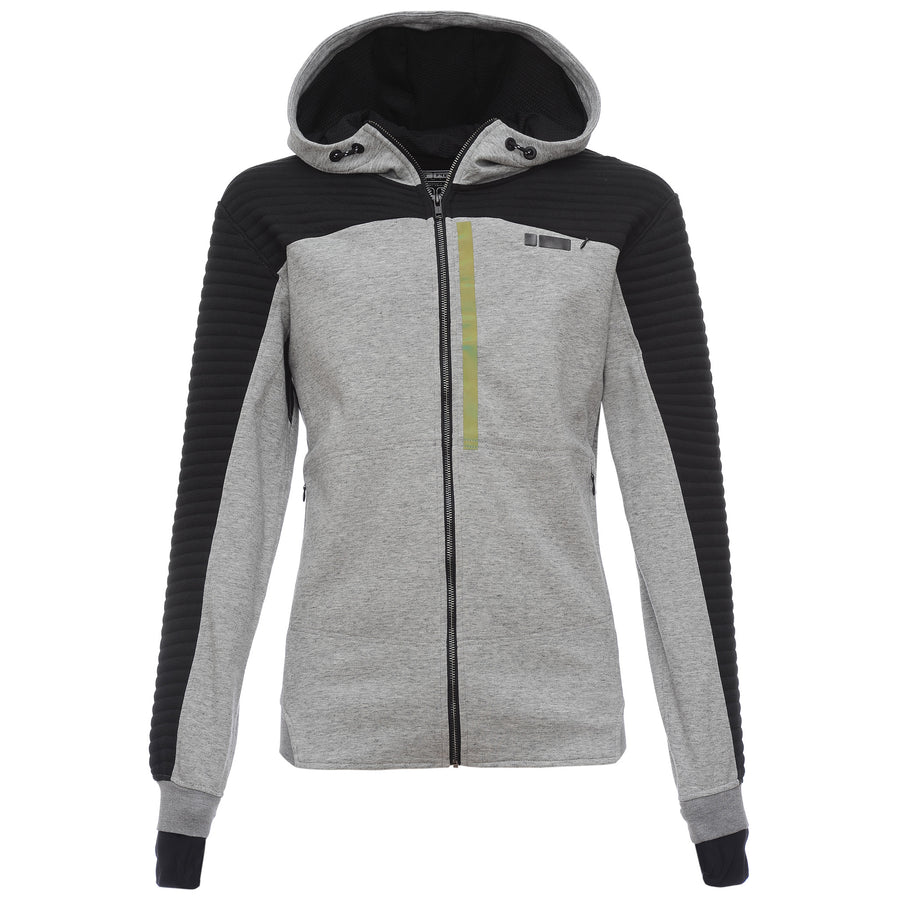 €š Freddy Mens Zip-Up Hoodie - Light Heather - LIVIFY