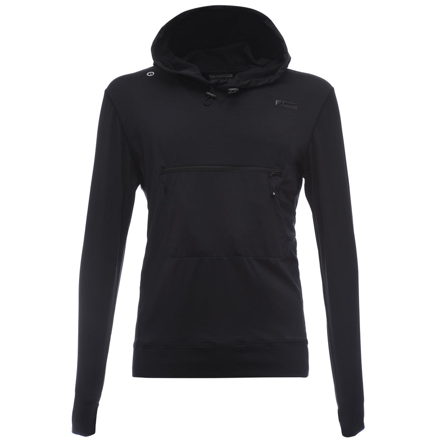 Freddy Mens DIWO Zip Jacket - Black - LIVIFY