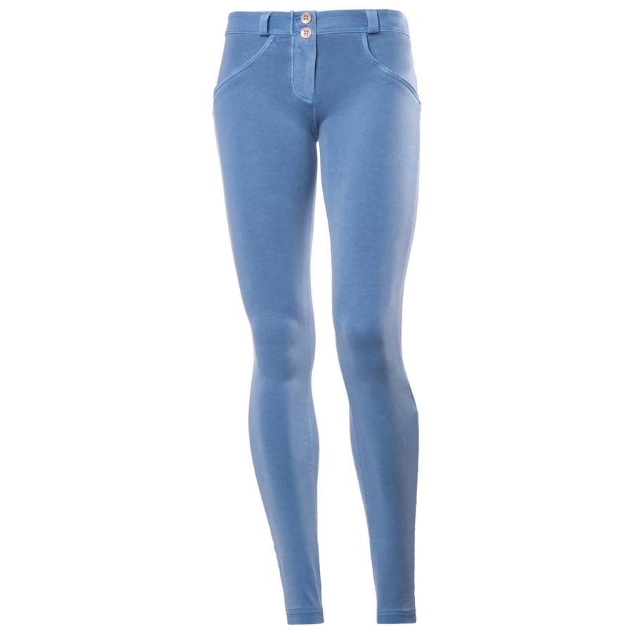 Freddy WRUP Garment Wash Skinny - Powder Blue - LIVIFY  - 1