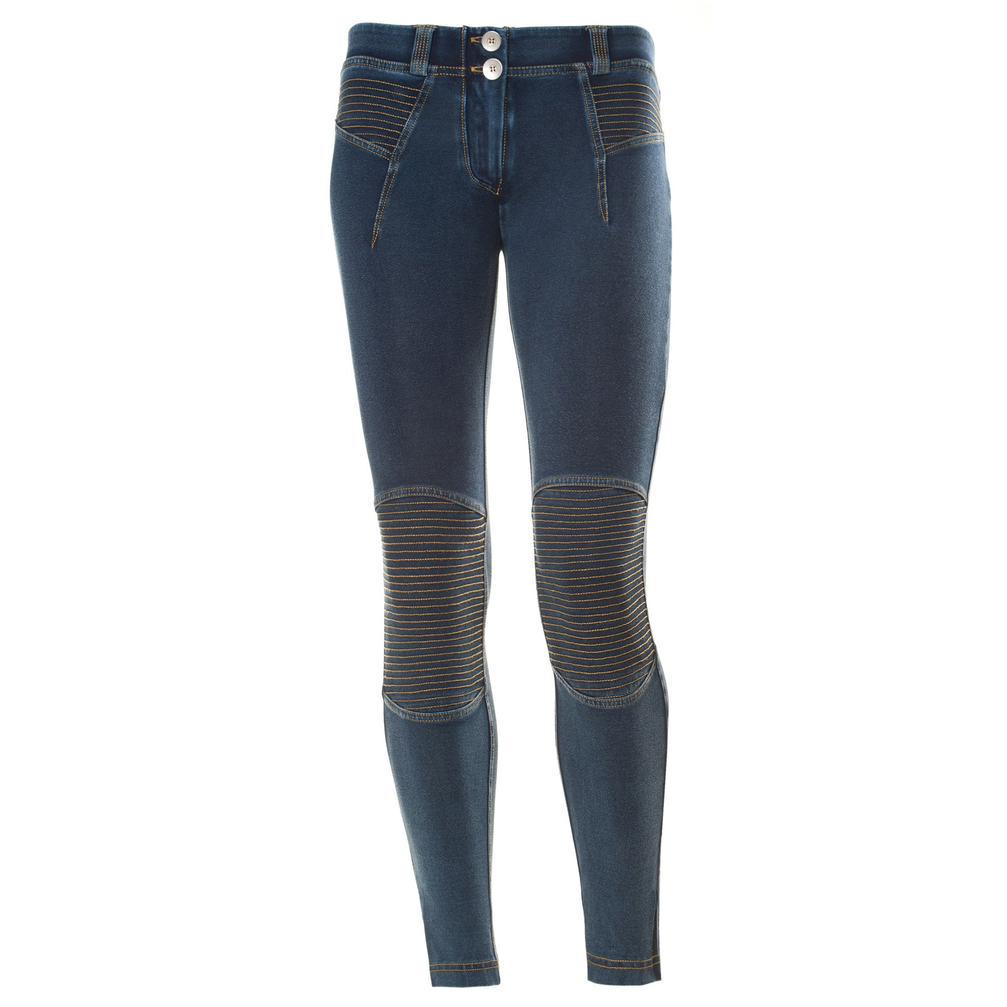 ea96d6014a5 FREDDY WR.UP MOTORCYCLE ZIP ANKLE LENGTH - Denim Effect - LIVIFY - 2