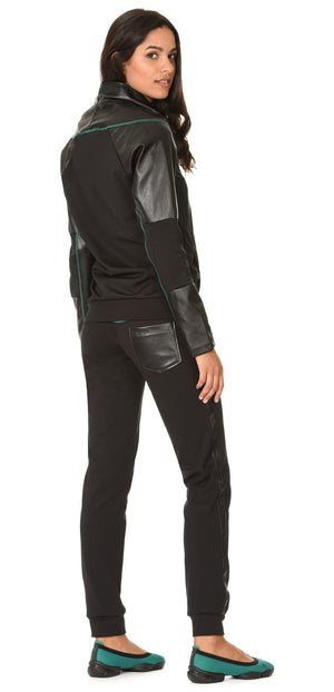 FREDDY BLACK ACTIVE HOODY - Black - LIVIFY  - 3