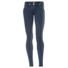 FREDDY WRUP SWAROVSKI CRYSTAL DENIM EFFECT - Dark - LIVIFY  - 2
