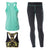Freddy Superfit D.I.W.O.® Sport Pant + Top + Tank - Mint/Black
