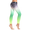 FREDDY WR.UP 7/8 ANKLE OMBRE PRINT PANT - Green - LIVIFY  - 1