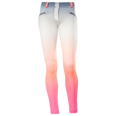 FREDDY WR.UP 7/8 ANKLE OMBRE PRINT PANT - Peach - LIVIFY  - 2