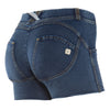 FREDDY WR.UP  SHAPING DENIM EFFECT SHORT - Dark - LIVIFY  - 1