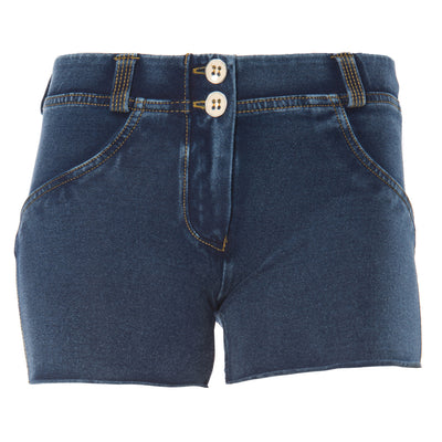FREDDY WR.UP  SHAPING DENIM EFFECT SHORT - Dark - LIVIFY  - 2
