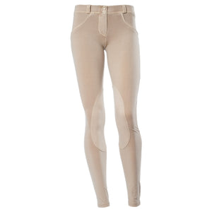 FREDDY WR.UP  WASHED RIDING PANT - Beige - LIVIFY  - 2