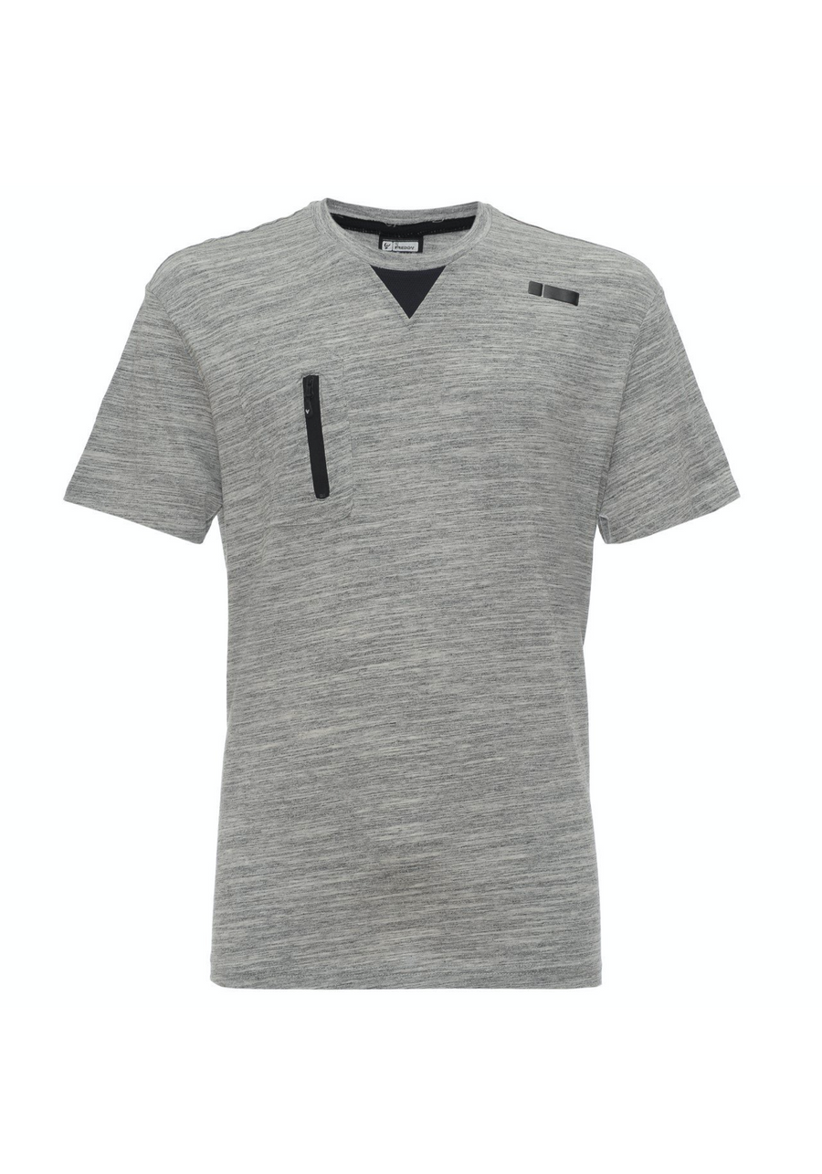 Freddy Mens Jersey T-Shirt - Heather