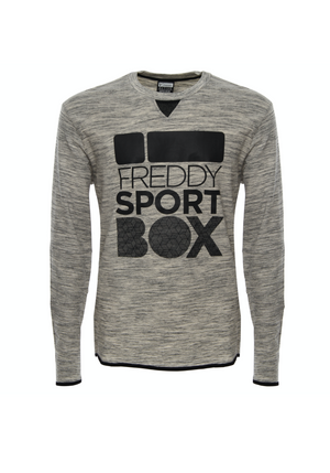 Mens Long Sleeve Tee - Ultra Smooth Cotton - Heather