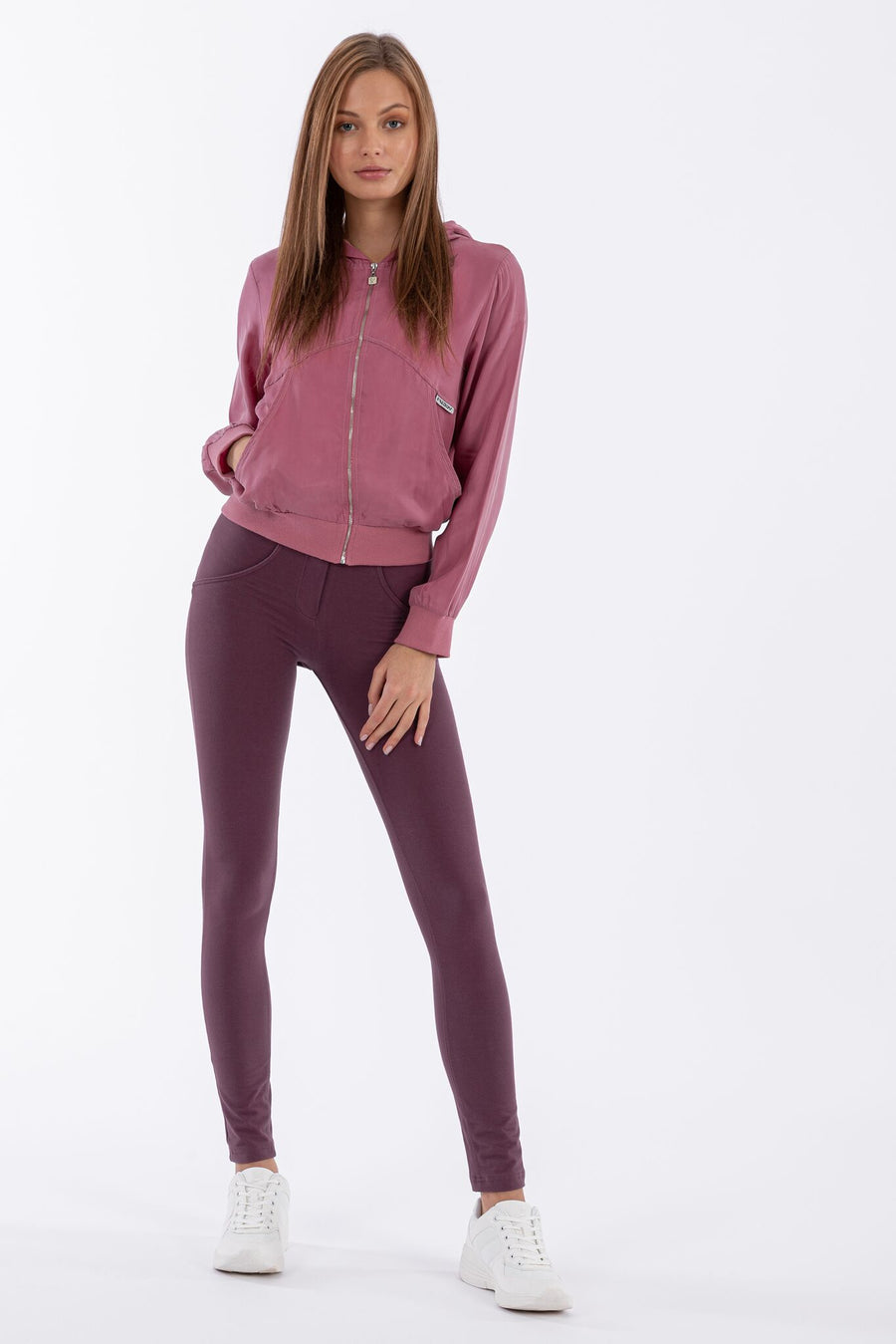 Freddy WR.UP® Regular Rise Skinny - Wine