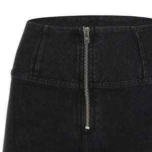 WR.UP® Denim - High Rise Full Length - Black Rinse