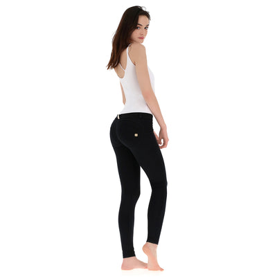 Freddy WR.UP® Low Rise Skinny - Black