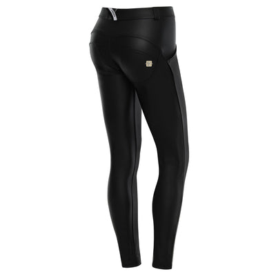 Freddy WR.UP® Eco Leather Low Rise Skinny - Black
