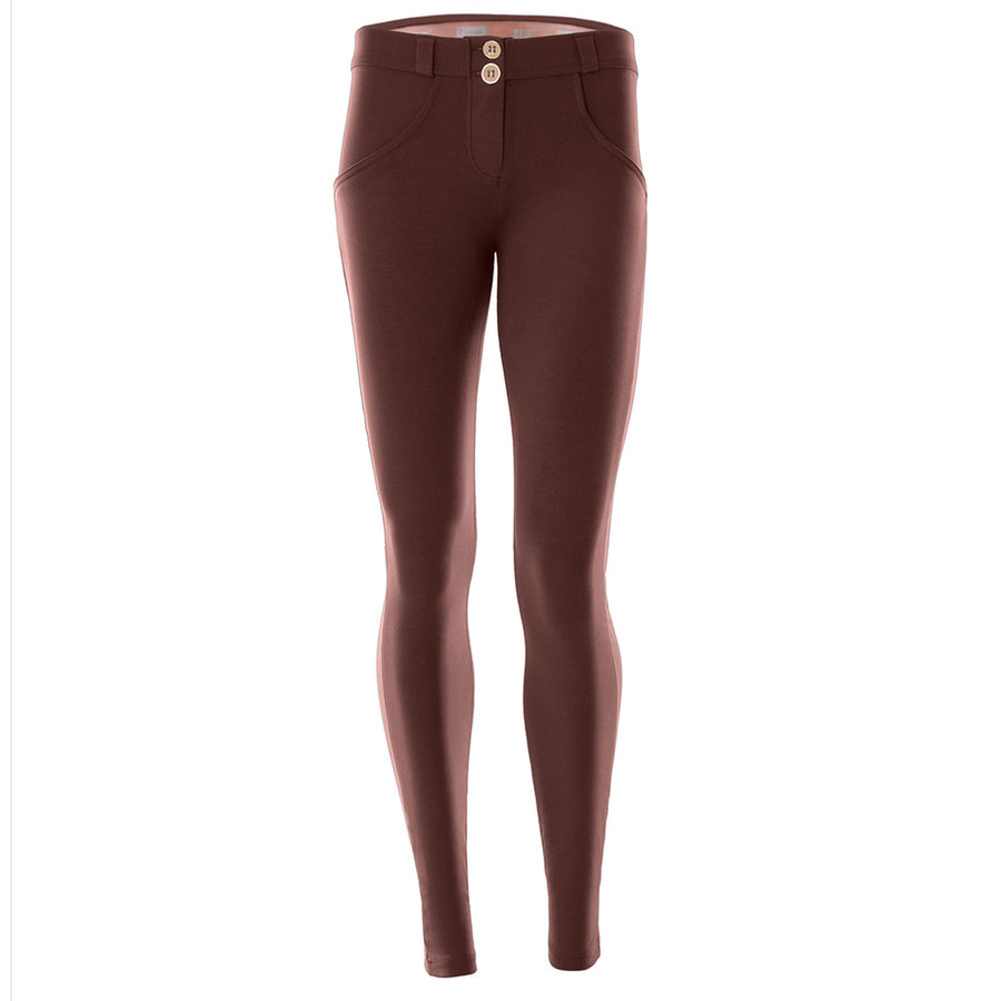 Freddy WR.UP® Mid Rise Skinny - Chocolate