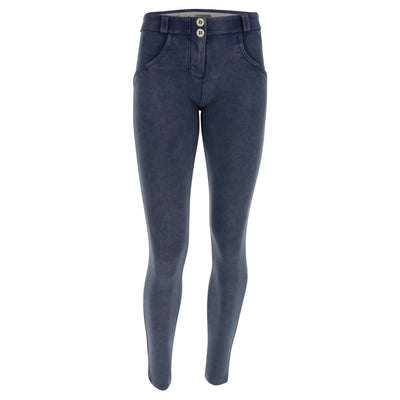 Freddy WR.UP® Marble Denim Regular Rise Skinny - Powder Blue