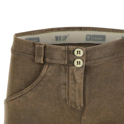 Freddy WR.UP® Marble Denim Regular Rise Skinny - Taupe