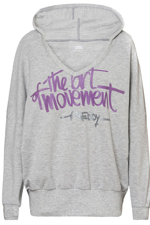 Freddy The Art of Movement Hoodie Sweatshirt - Heather