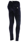 WR.UP® Velvet Fashion - Regular Rise Full Length - Navy