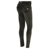 Freddy WR.UP® Velvet Regular Rise Skinny - Army