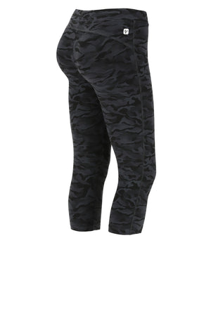 Freddy WR.UP® Camo  Ankle Length - Black Camo