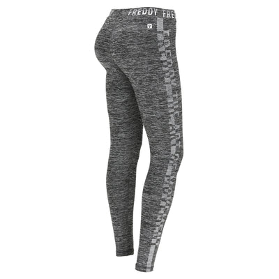Freddy Logo Sport Training Pants - Charcoal