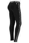 Freddy Logo Sport Training Pants - Black