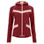 Freddy Color Block Stretch Nylon Jacket - Burgundy Pink