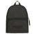 Backpack - Logo Stitch Detail - Black