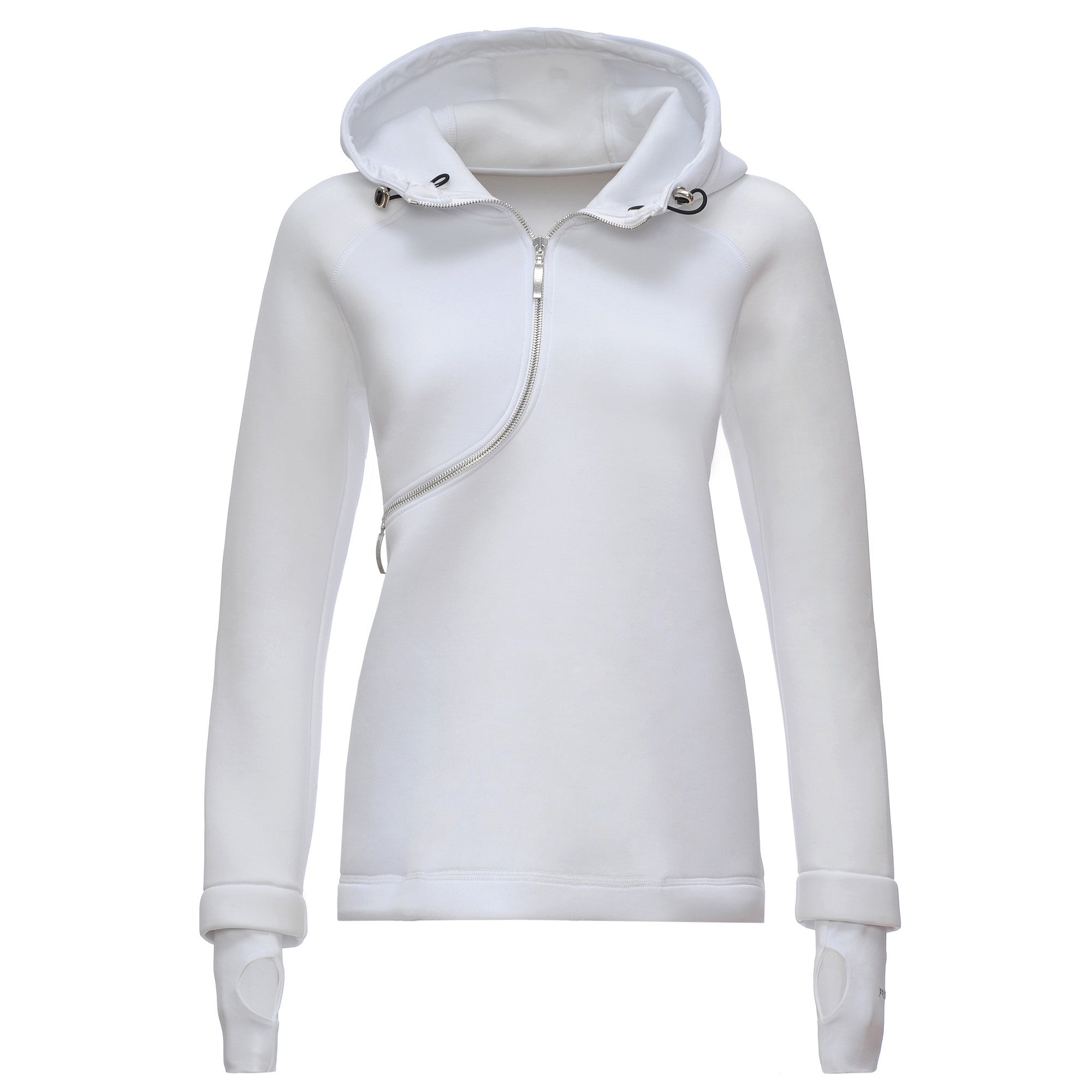 FREDDY D.I.W.O CURVE BREATHABLE SWEATSHIRT - White - LIVIFY  - 1