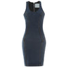 FREDDY WR.UP® DENIM EFFECT DRESS - Indigo - LIVIFY  - 1