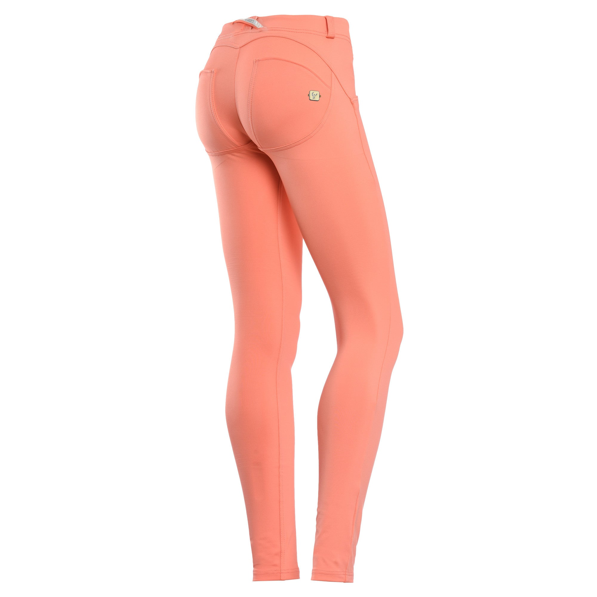 FREDDY WR.UP SKINNY D.I.W.O SATIN FINISH - Peach - LIVIFY  - 1