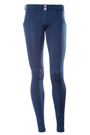FREDDY WR.UP  SKINNY D.I.W.O SATIN FINISH - Blue - LIVIFY  - 1