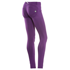 FREDDY WR.UP  SKINNY D.I.W.O SATIN FINISH - Purple - LIVIFY  - 1