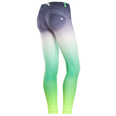 Freddy WR.UP® Ombre Print  Ankle Length Pant - Green