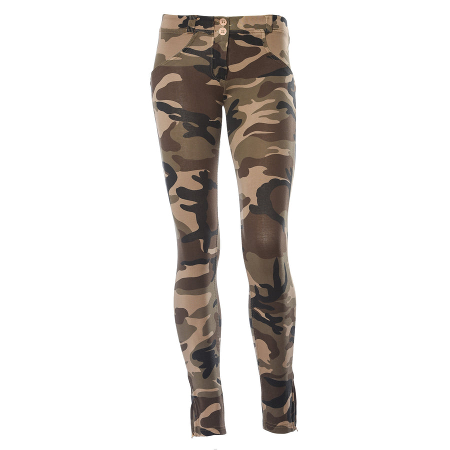 Freddy WR.UP® Camo Zip Ankle Length - Dark Camo