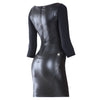 FREDDY WR.UP DRESS Leather Effect - Black - LIVIFY  - 2