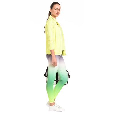 FREDDY WR.UP 7/8 ANKLE OMBRE PRINT PANT - Green - LIVIFY  - 6