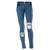 Freddy WR.UP® Mid Rise Distressed Denim - Indigo Rinse