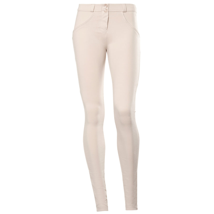FREDDY WR.UP REGULAR RISE SKINNY - Cream - LIVIFY  - 1