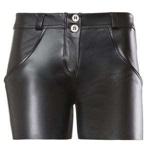 FREDDY WR.UP ECO LEATHER EFFECT SHORT - Black - LIVIFY  - 2