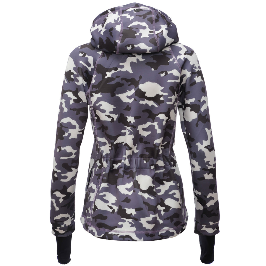 FREDDY D.I.W.O CURVE BREATHABLE SWEATSHIRT - Light Camo - LIVIFY  - 1