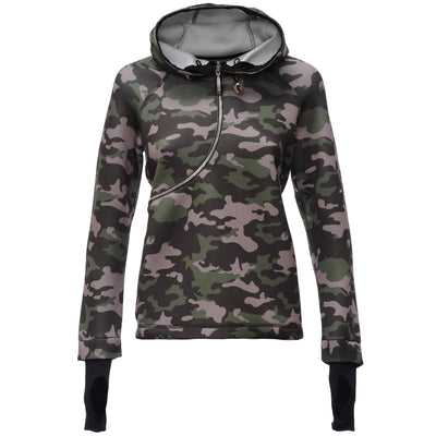 FREDDY D.I.W.O CURVE BREATHABLE SWEATSHIRT - Dark Camo - LIVIFY  - 1