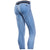 Freddy Garment Dyed Ankle Length Sport Pants - Blue