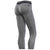 Freddy Garment Dyed Ankle Length Sport Pants - Grey