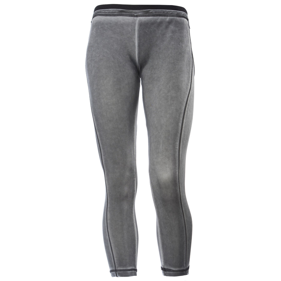 FREDDY ANKLE LENGTH PANTS GARMENT DYED - GREY - LIVIFY  - 1